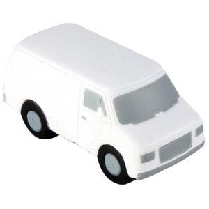 Pelota-antiestres en forma de camioneta