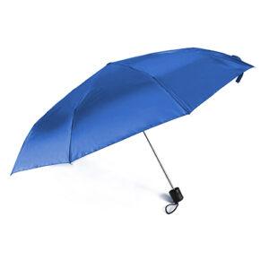 paraguas chico azul
