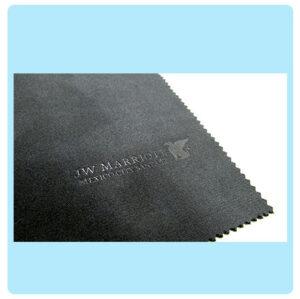 Microfibra impresa con acabado en bajo relieve