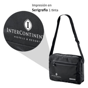 impresión en bolso con asa larga