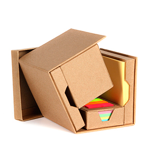cubo ecologico con notas