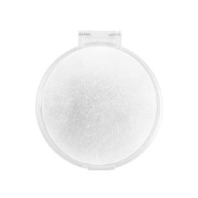 Espejo redondo cerrado blanco