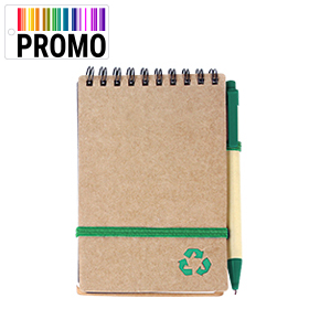 libretas ecologicas verdes