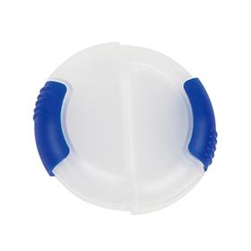 Pastillero redondo sencillo azul