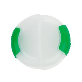 Pastillero redondo sencillo verde