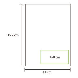 medidas de colores de libretas ecologicas