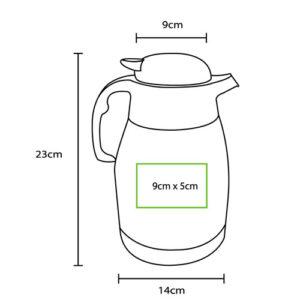 medidas de cafetera