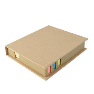 block de notas ecológico cerrado
