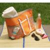 Uso de bolsa para playa