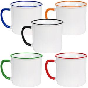 colores de taza de cerámica