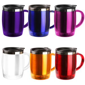 colores de taza térmica plástica