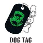 """Placa de identificación """"Dog Tag"""""""