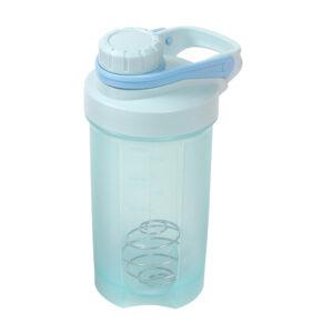 Vaso mezclador con agitador metálico azul