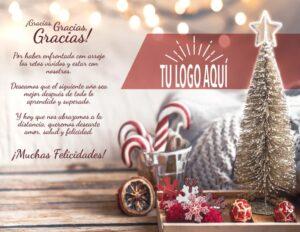 Plantilla de Agradecimiento 2 de ideas para regalar esta Navidad
