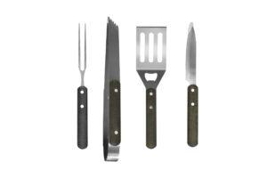 Kit de utensilios de asado