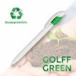 Bolígrafos reciclados de bioplastico