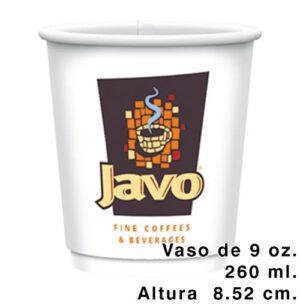 vasos de papel para cafe o helado