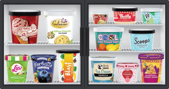 empaques para alimentos congelados